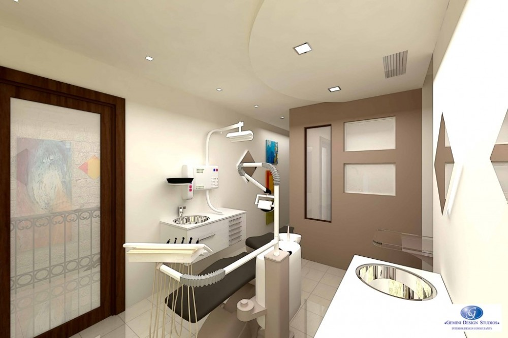 Interior decoration pictures for dental clinic for Office design help