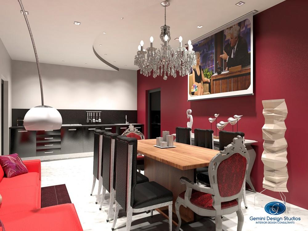 Interior design malta elegant classic red modern reading for Modern home decor malta