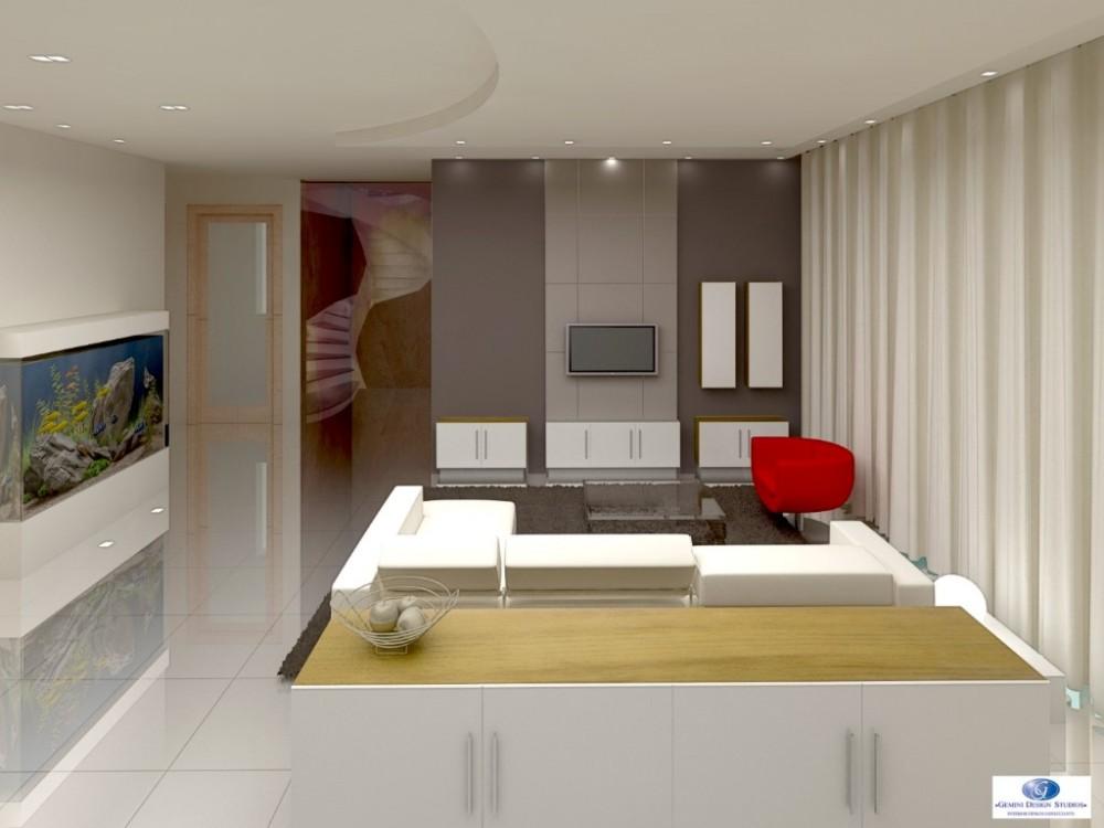 Penthouse modern interior design for Modern home decor malta