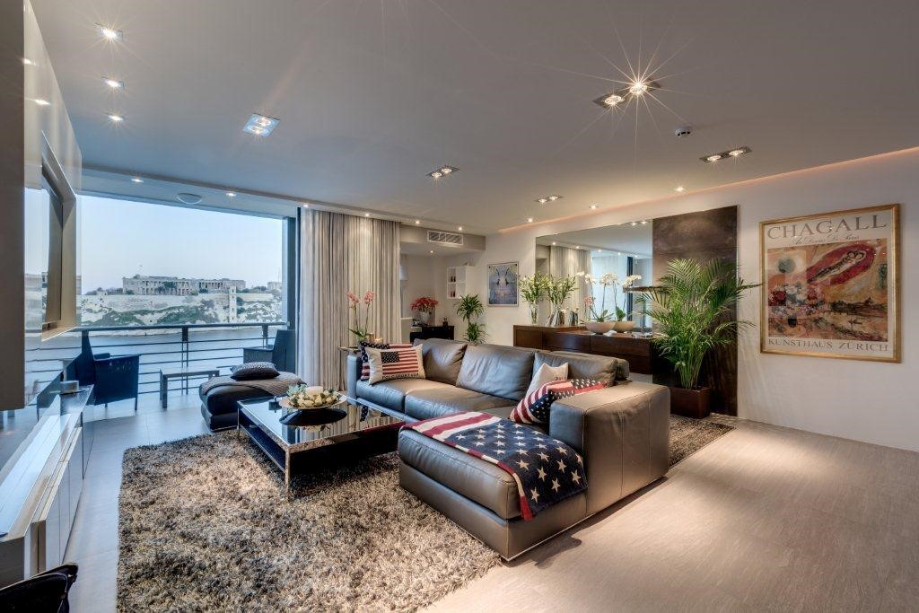 Modern hair salon interior design for Living room hair salon